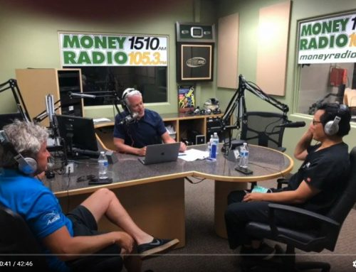 Dr. Bailie as a featured guest on radio show, HEALTH FUTURES on May 1, 2020